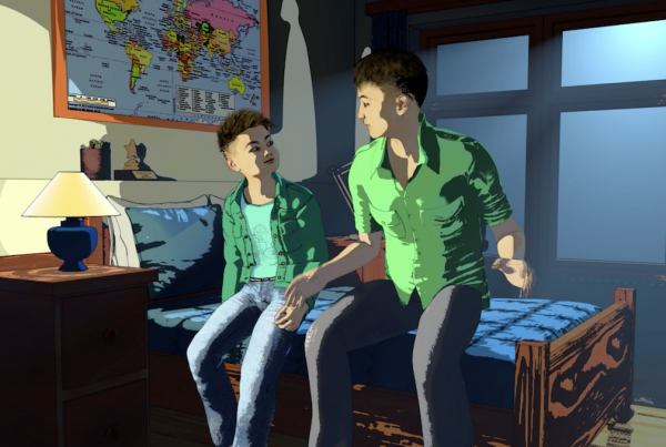 Image from Father's Day film